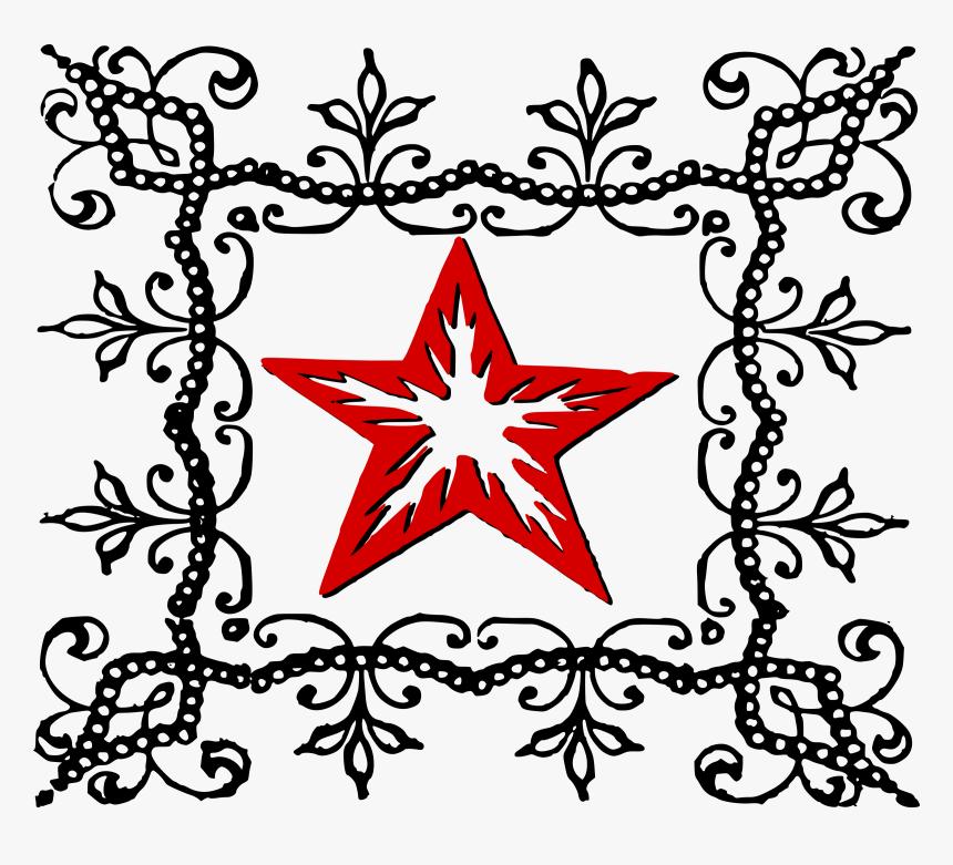 Download Leaf Clipart Pentagram Hexagram Clip Art White - Simple Star Design Drawing, HD Png Download, Free Download