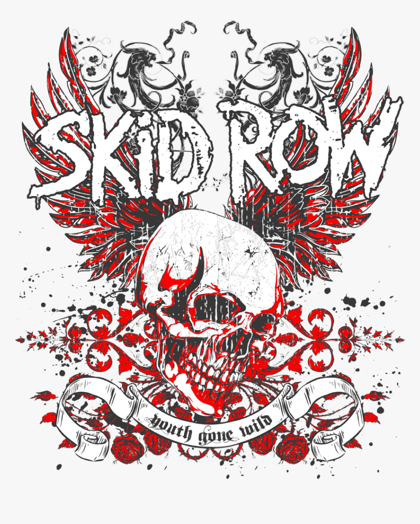 Skid Row Logo Png, Transparent Png, Free Download