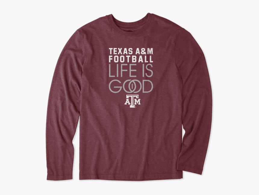 "Men""s Texas A&m Aggies Infinity Football Long Sleeve - Sweatshirt, HD Png Download, Free Download"
