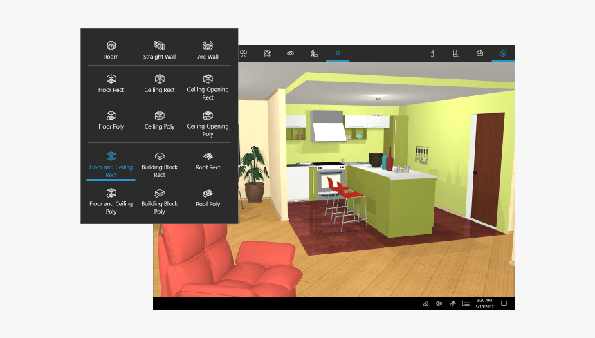 An Interior Design Project Made With Live Home 3d Software Interior Design Hd Png Download Kindpng