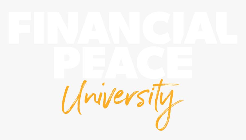 Financial Peace University - Financial Peace University Logo, HD Png Download, Free Download