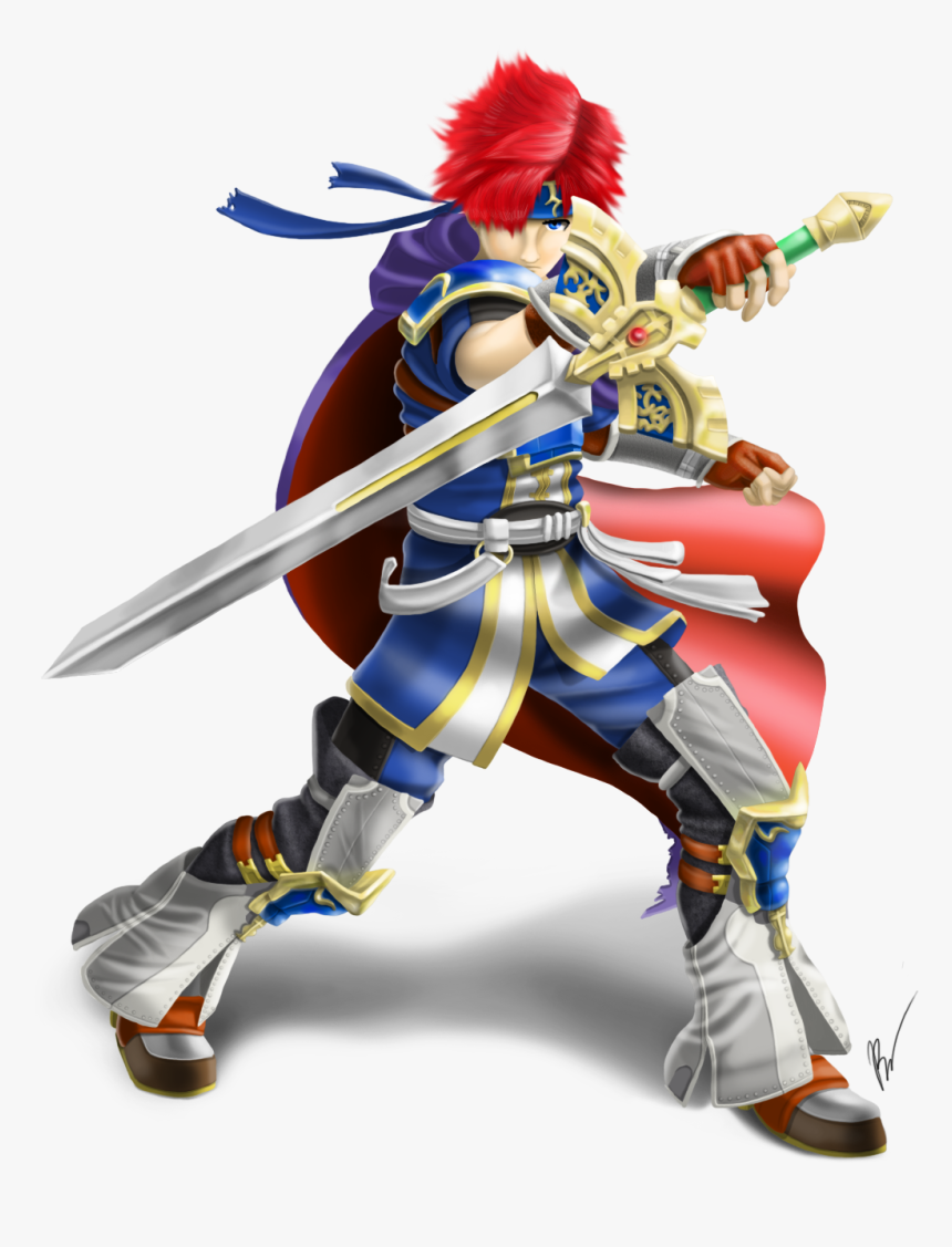 Nintendo Fanon Wiki - Roy Fire Emblem Smash, HD Png Download, Free Download