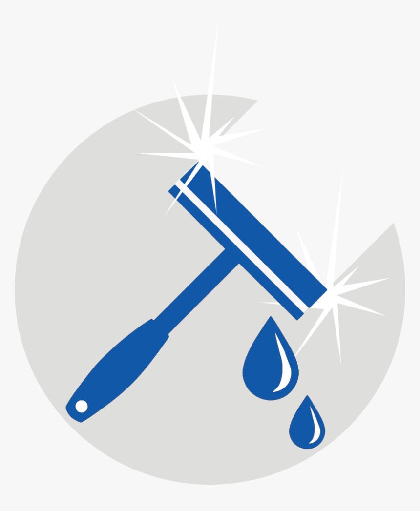 Transparent Washing Clipart - Window Cleaning Logo Png, Png Download, Free Download