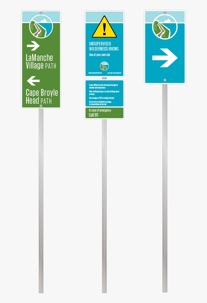A Range Of Signs Provide Direction, Identification, - Traffic Sign, HD Png Download, Free Download