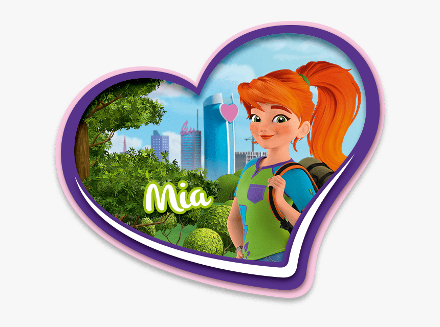Legos Clipart Character Lego - Mia New Lego Friends, HD Png Download, Free Download