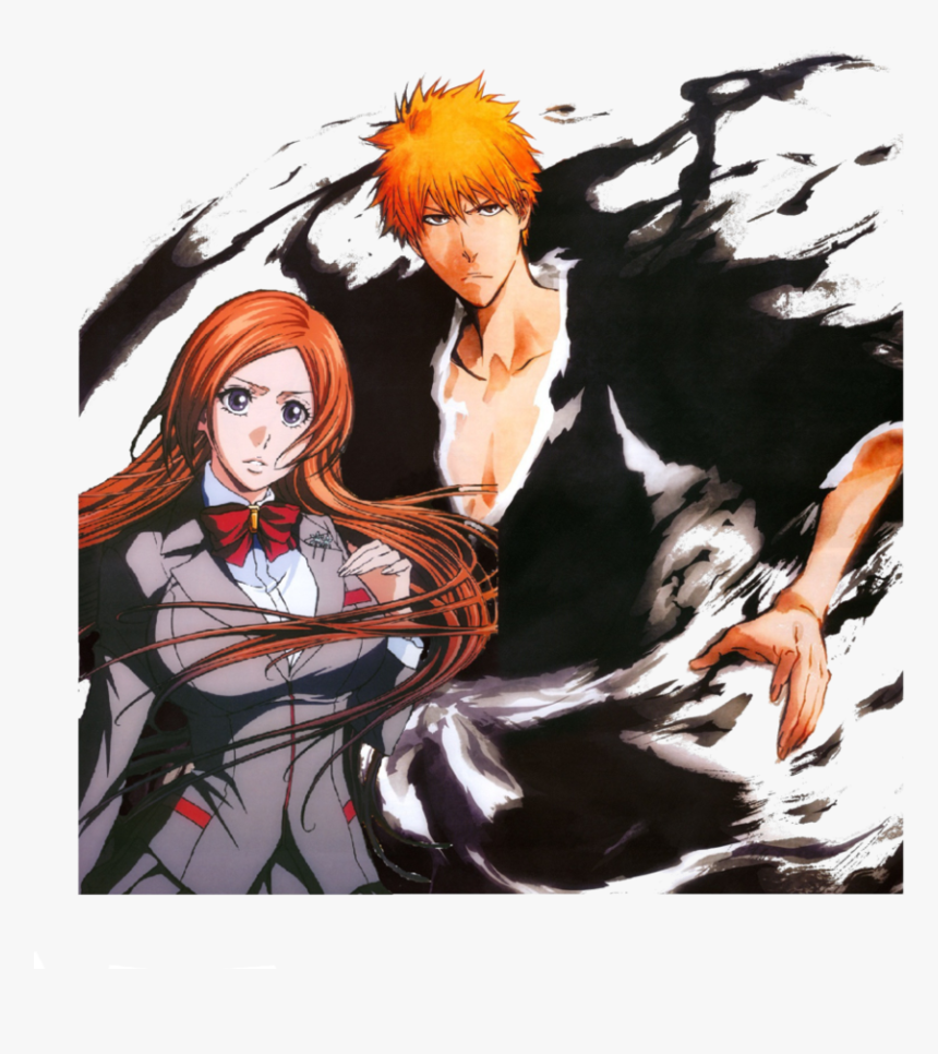 Ichigo Orihime Images Ichihime 3 Hd Wallpaper And Ichigo And Orihime Png Transparent Png Kindpng