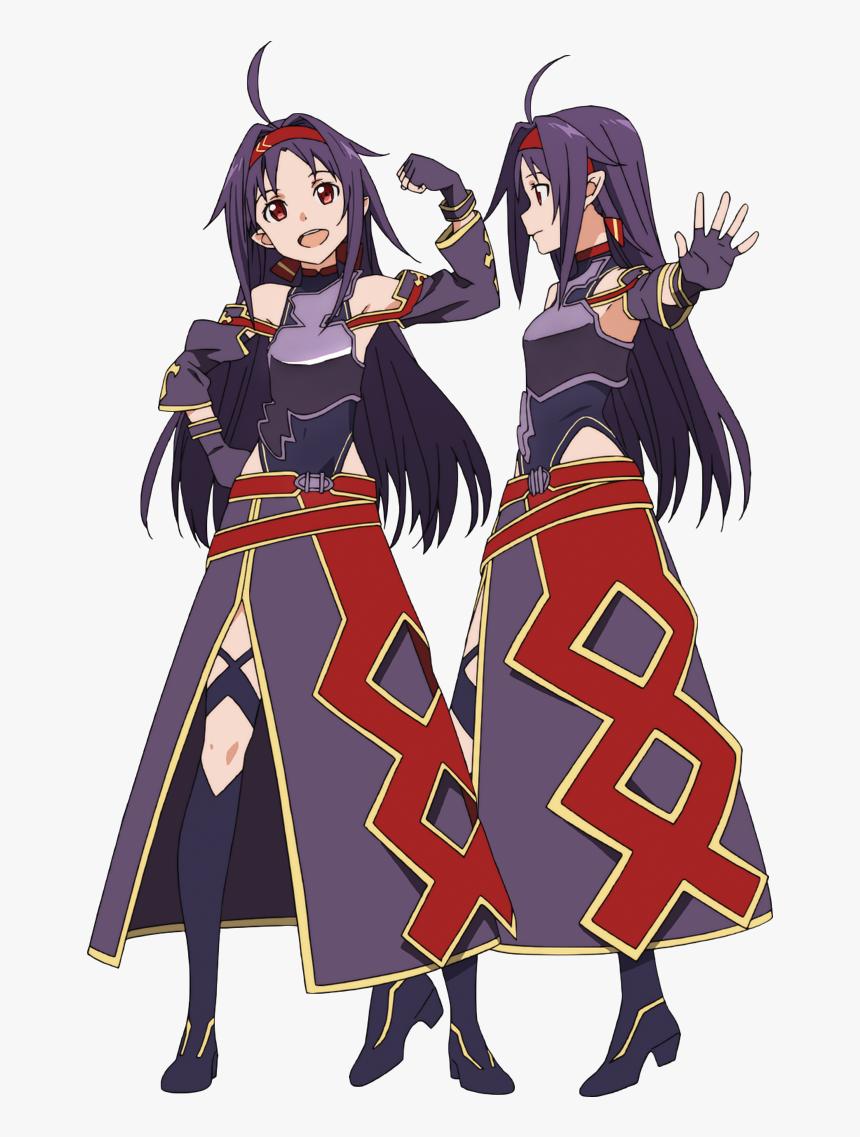 Sword Art Online 2 Yuuki, HD Png Download, Free Download