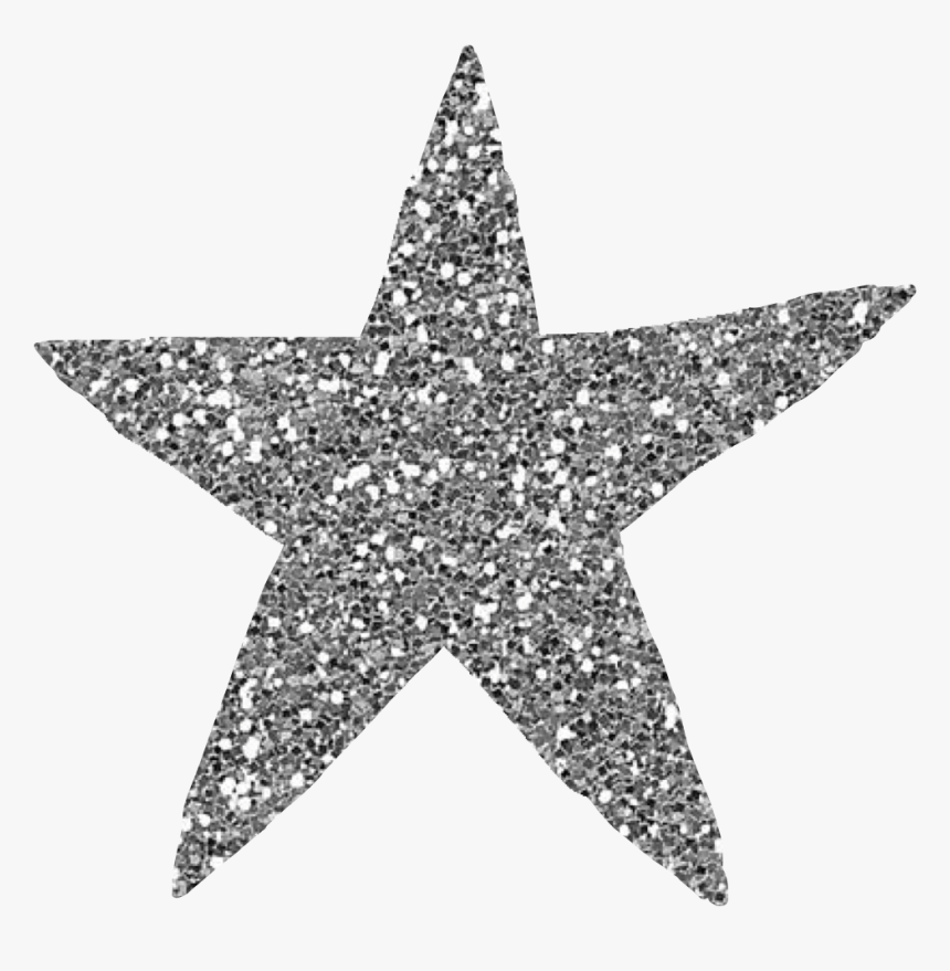 #star #glitter #silver #freetoedit - Minsk, HD Png Download, Free Download