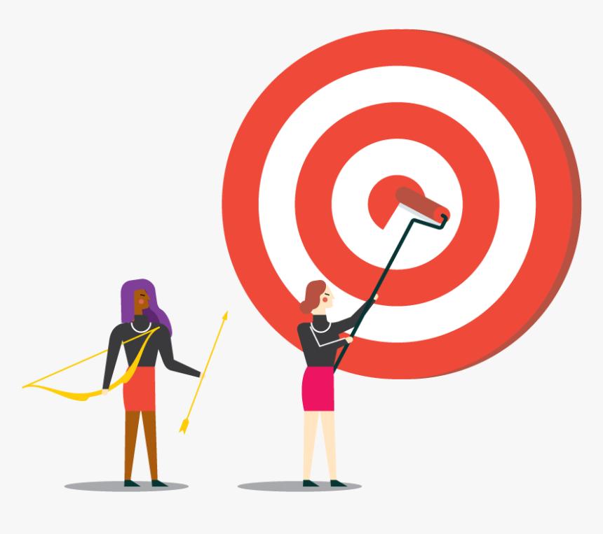 Design Powers Target Market White - Illustration, HD Png Download, Free Download