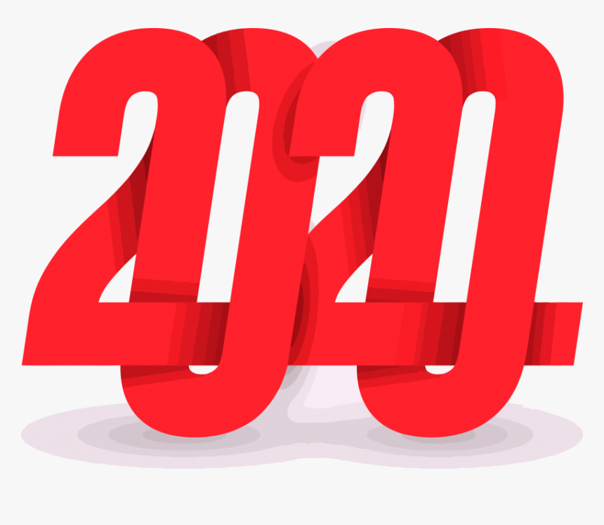 Happy New Year 2020 Design, HD Png Download, Free Download