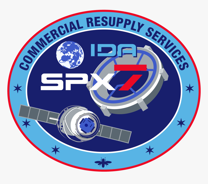 Spacex Crs-7 Patch - Ubuntu 11.04, HD Png Download, Free Download