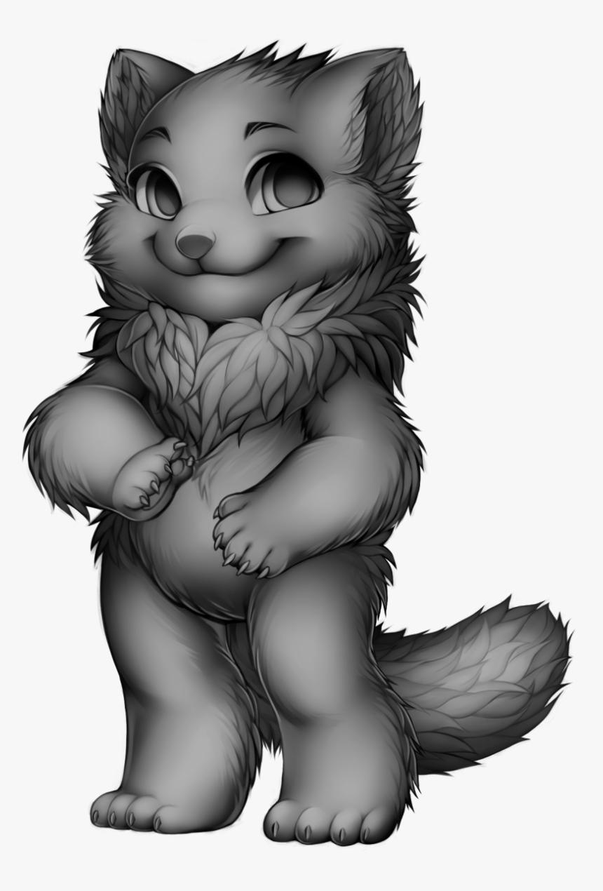 Furvilla Raccoon Base, HD Png Download, Free Download