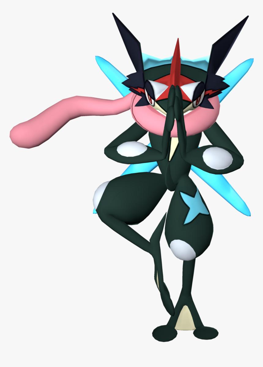 Thumb Image - Pokemon Ash Greninja Shiny, HD Png Download, Free Download