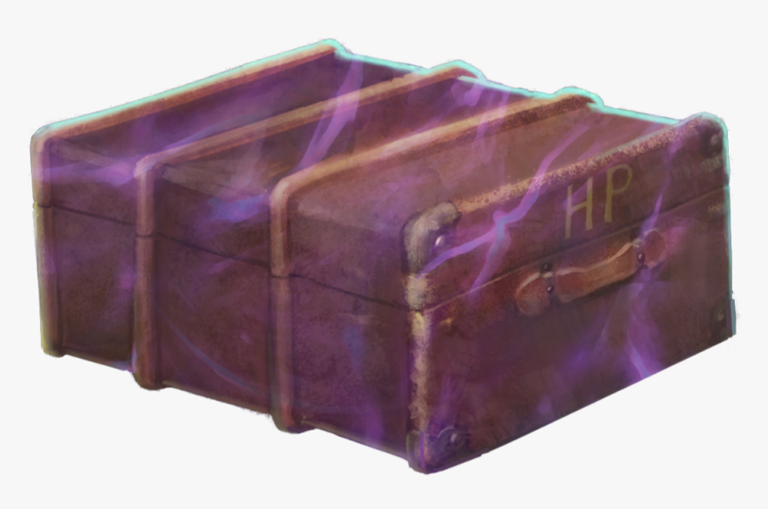 Wizards Unite Foundable Harry's School Trunk - Dessert, HD Png Download, Free Download