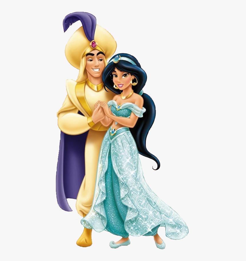 Aladdin Png Hd - Disney Jasmine And Aladdin, Transparent Png, Free Download