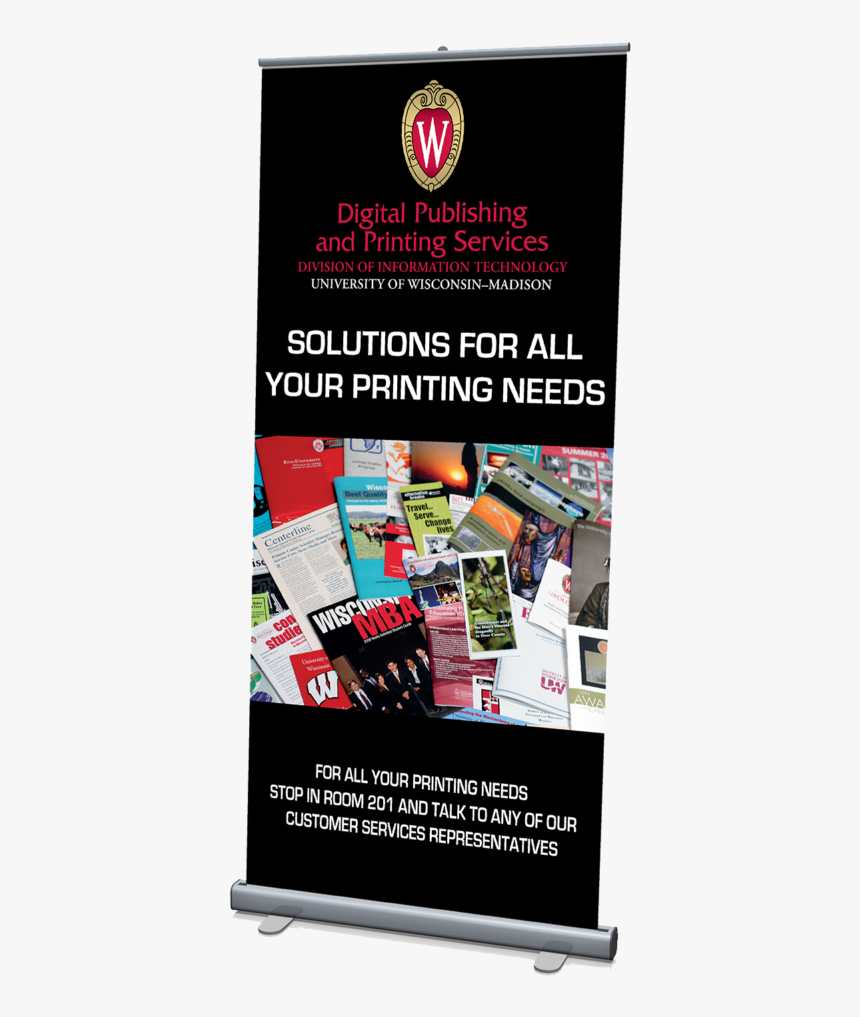 Standard Pull-up Poster Kit - Banner Printing Services Png, Transparent Png, Free Download