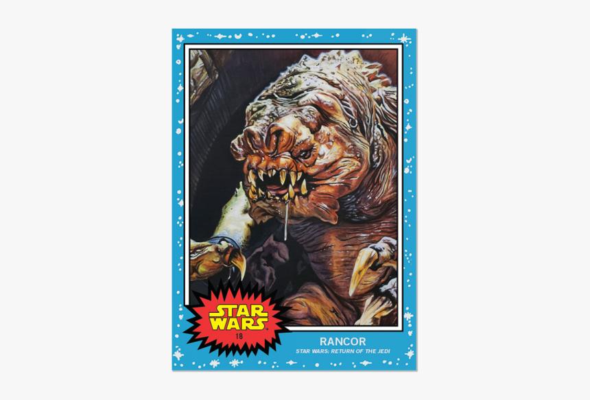 Topps Star Wars Living Set Card - Star Wars 9 Topps, HD Png Download, Free Download
