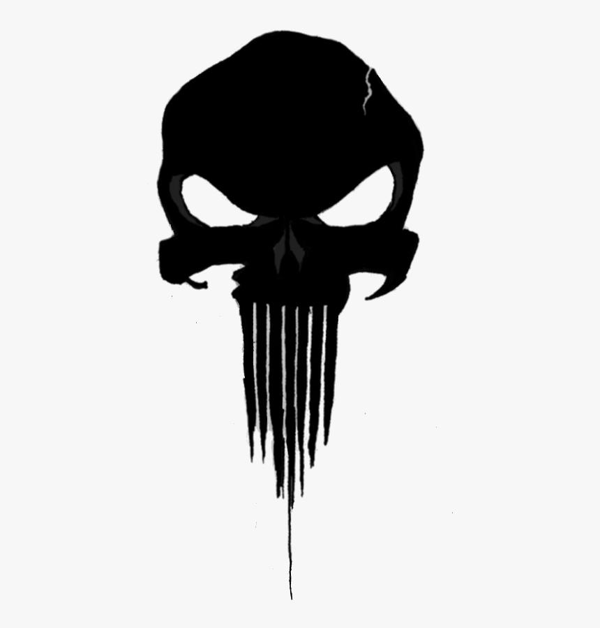 Punisher Skull Png , Png Download - Punisher Skull No Background, Transparent Png, Free Download