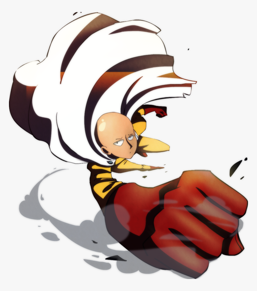 One Punch Png Hd - One Punch Man Saitama Png, Transparent Png, Free Download