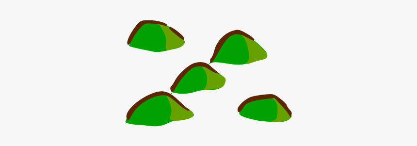 Rpg Map Symbols - Hill Symbol On Map, HD Png Download, Free Download