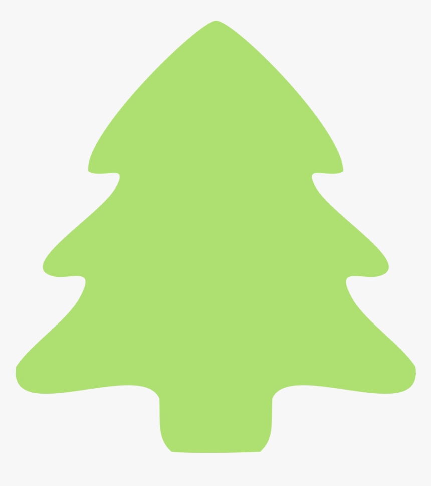 Christmas Tree Clip Art Outline Free Clipart Images Green Christmas Tree Clipart Hd Png Download Kindpng