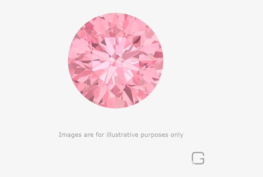 71 Carat Light Fancy Pink Diamond Gia - Transparent Background Pink Diamond Png, Png Download, Free Download