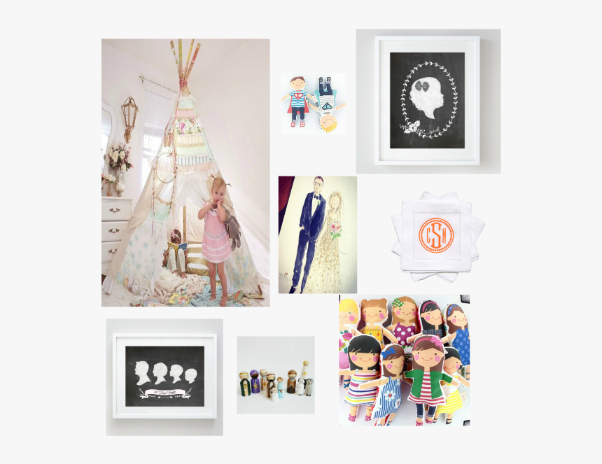 Blog Collage - Gifts - Collage, HD Png Download, Free Download