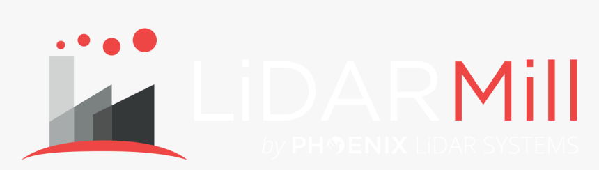 Lidarmill Logo White And Red On Clear With Phoenix - Lidarmill, HD Png Download, Free Download