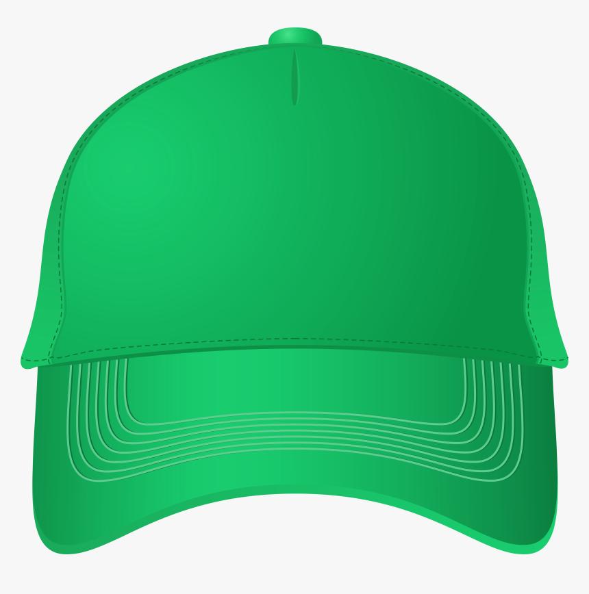 Green Baseball Cap Png Clipart - Green Baseball Cap Png, Transparent Png, Free Download