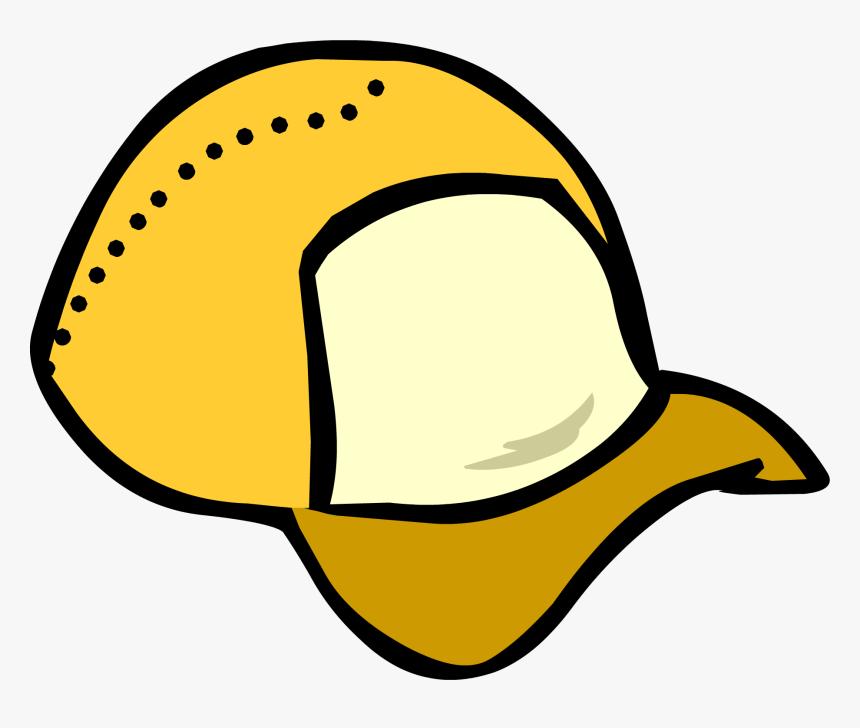 Club Penguin Rewritten Wiki - Club Penguin Green Cap, HD Png Download, Free Download