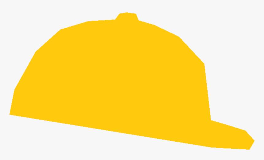 Baseball Cap Hard Hats Helmet - Yellow Baseball Cap Clipart, HD Png Download, Free Download