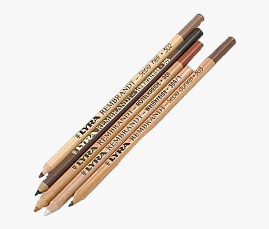 #artsy #grungeaesthetic #retro #png #vintage #art #coloredpencils - Art Pencils, Transparent Png, Free Download