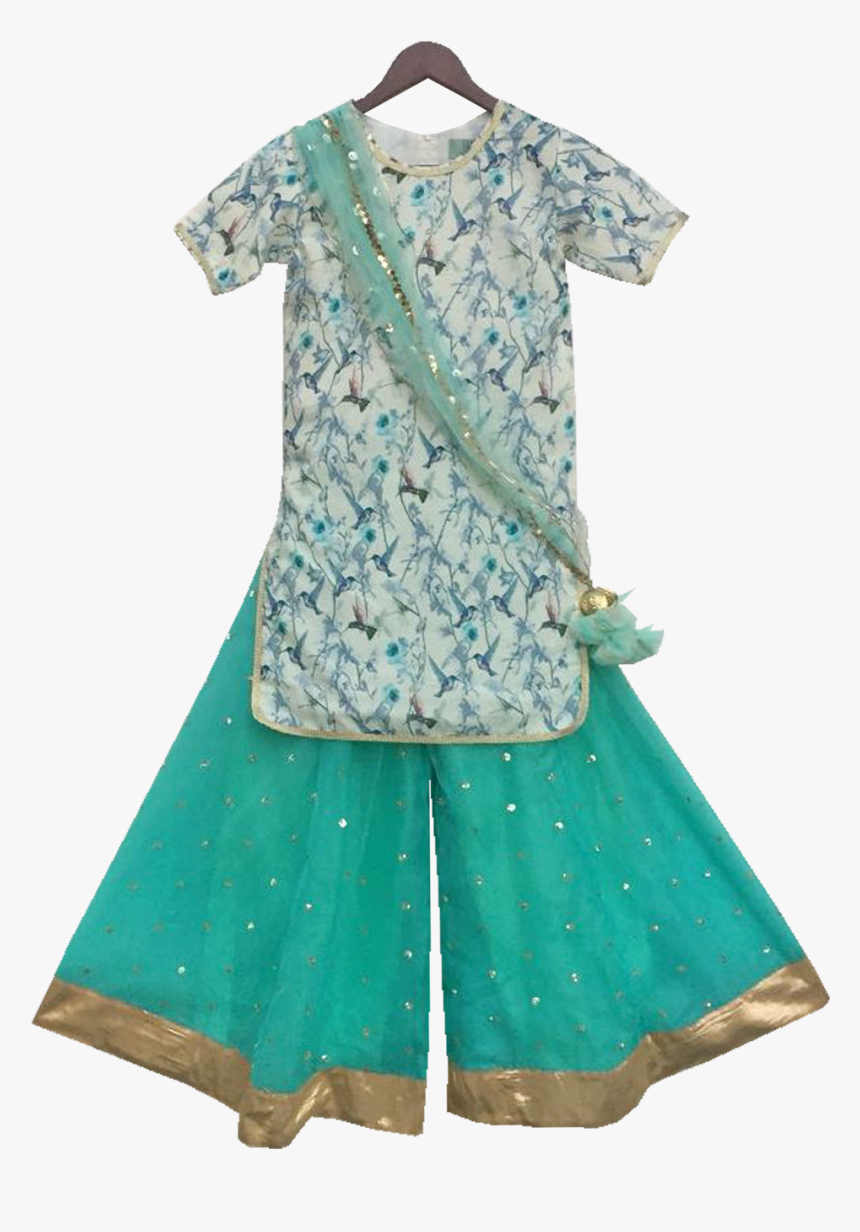 Sharara For Baby Girl , Png Download - Day Dress, Transparent Png, Free Download
