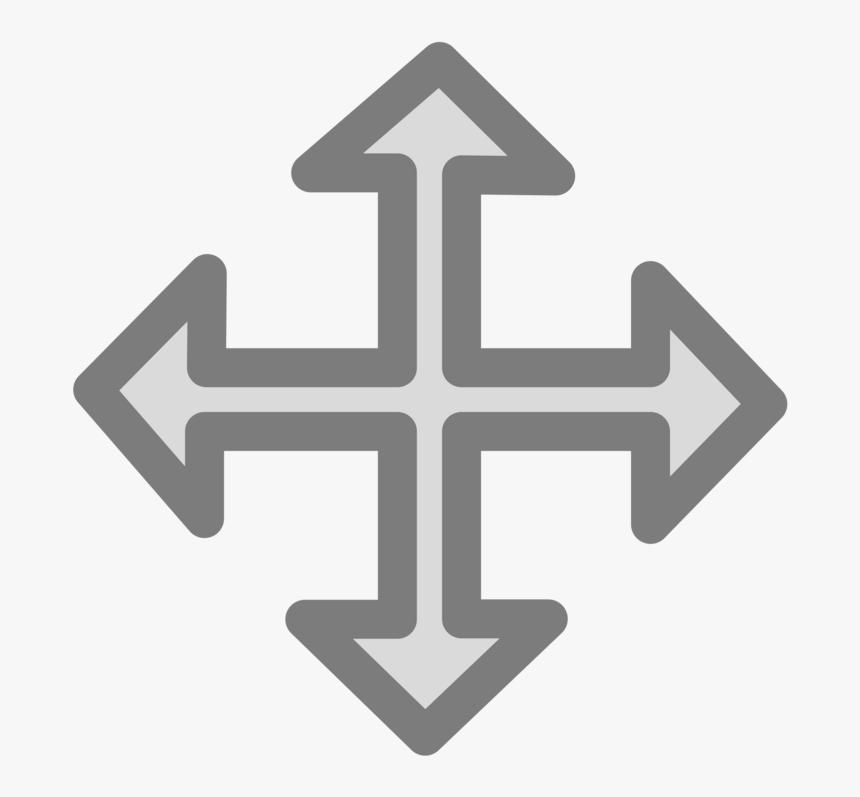 Logo,symbol,sign - 4 Way Arrow Png, Transparent Png, Free Download