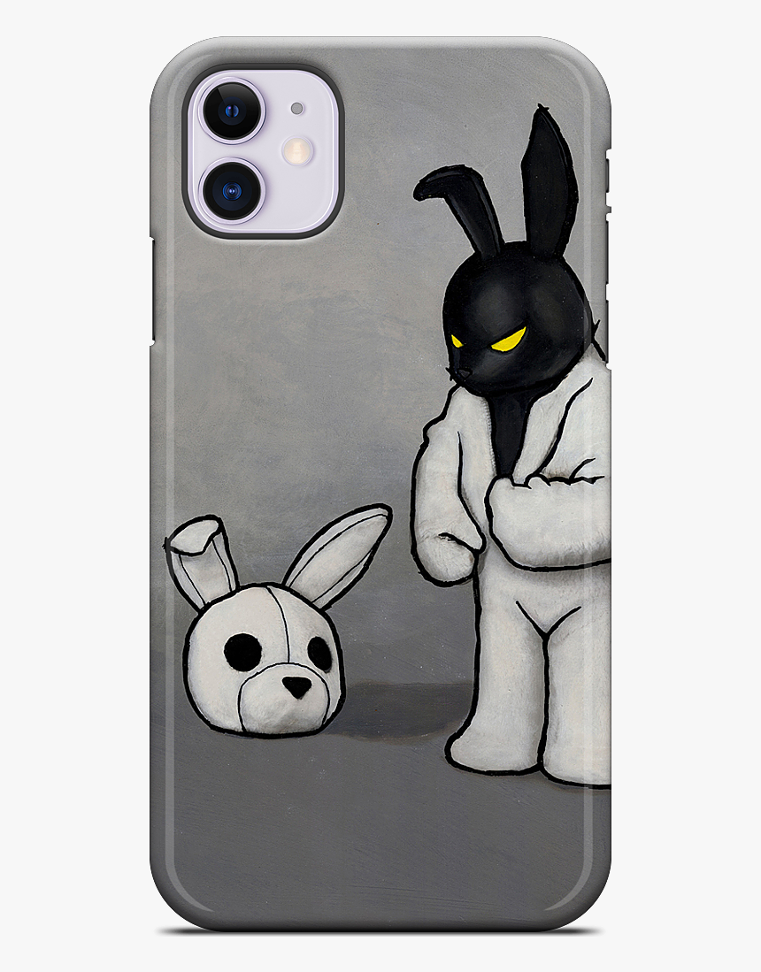 "Black In White Iphone Case""  Data Mfp Src=""//cdn - Bad Bunny En Blanco Y Negro, HD Png Download, Free Download"