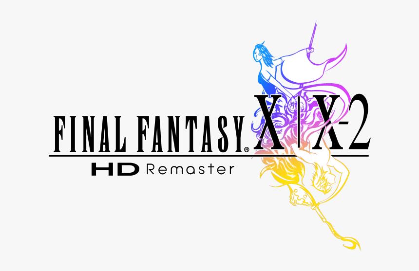 Final Fantasy X Logo Png - Final Fantasy X X2 Hd Remaster Logo, Transparent Png, Free Download