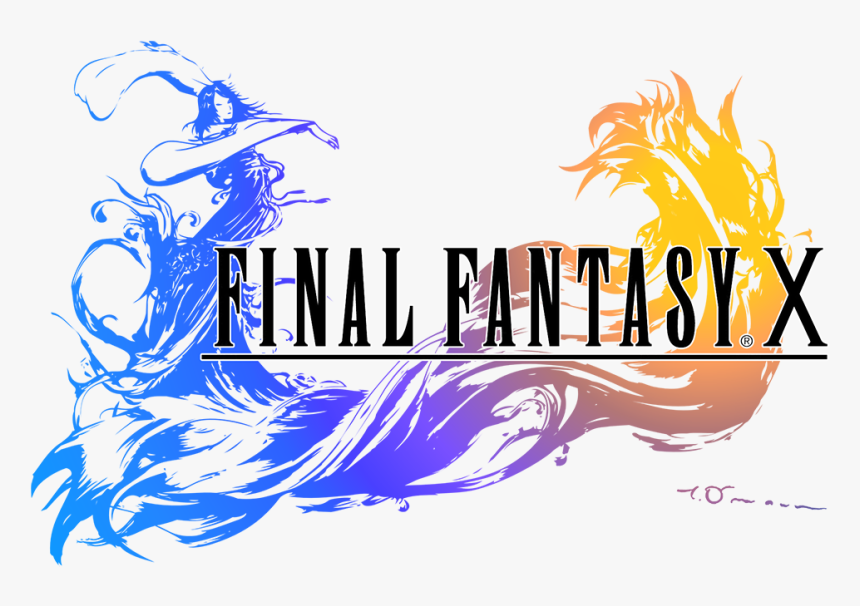 Final Fantasy X Logo Png - Final Fantasy X Title, Transparent Png, Free Download