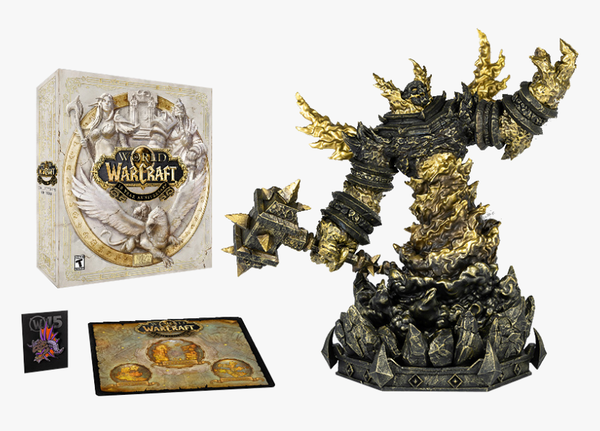 World Of Warcraft 15th Anniversary Collector's Edition, HD Png Download, Free Download