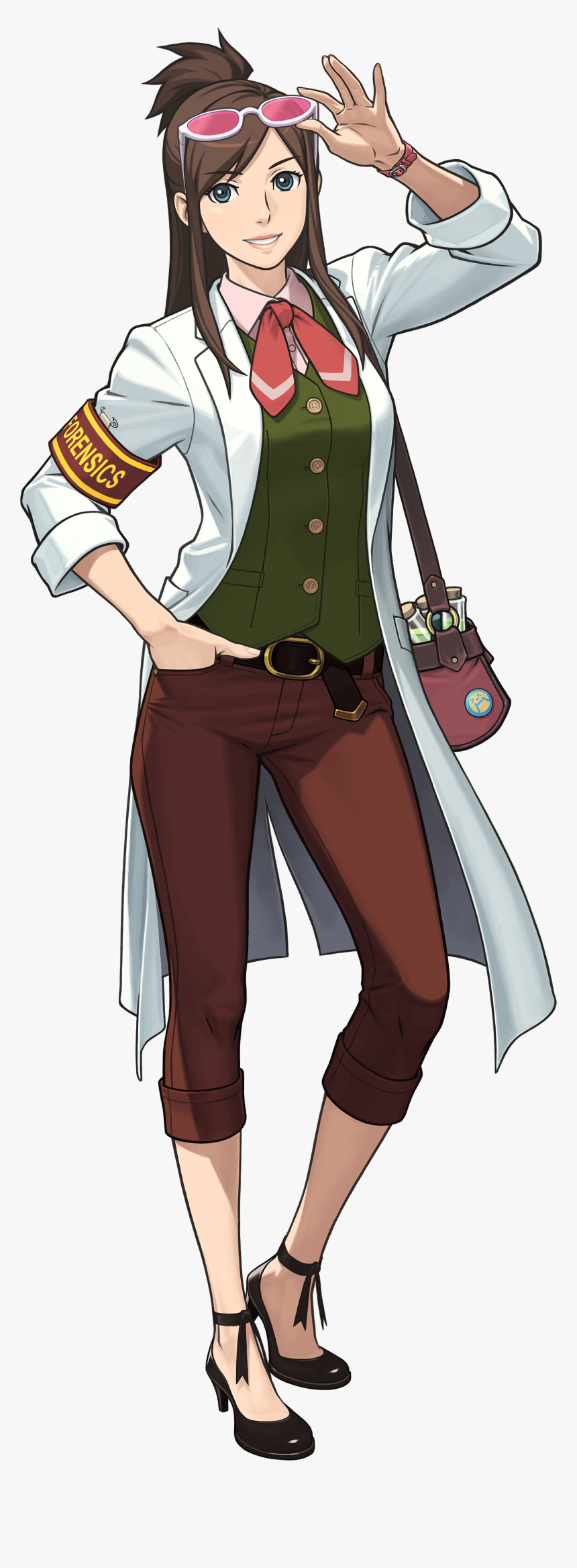 Female Ace Attorney Characters Hd Png Download Kindpng