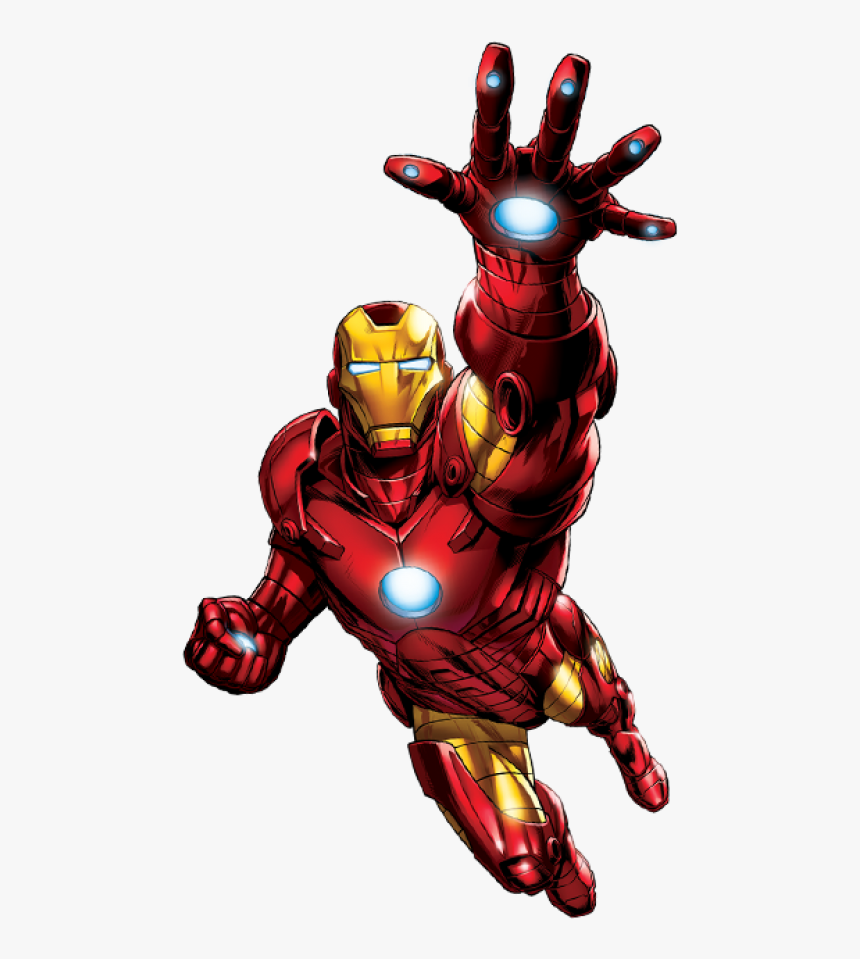 Ironman Flying Png Image - Iron Man Comics Png, Transparent Png, Free Download
