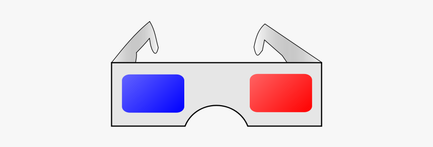 3d Glasses Png Clip Arts - Movie Glasses Clip Art, Transparent Png, Free Download