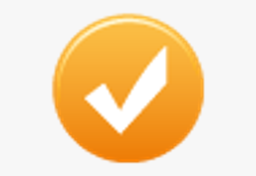 Yellow Check Mark Icon, HD Png Download, Free Download