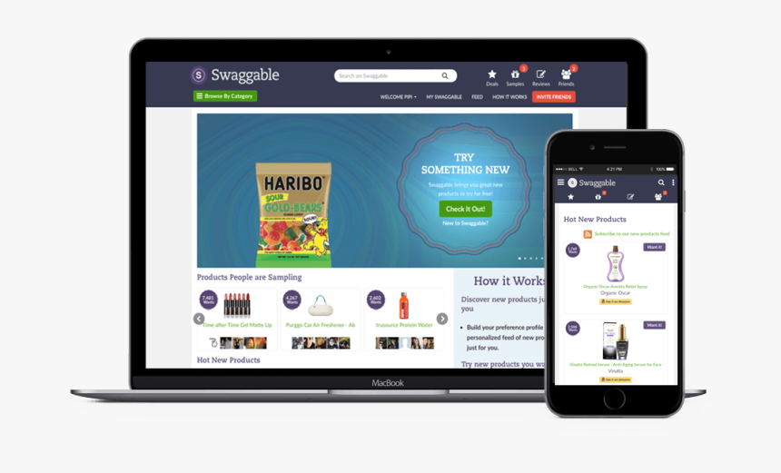 Swaggable Consumer Site - Iphone, HD Png Download, Free Download