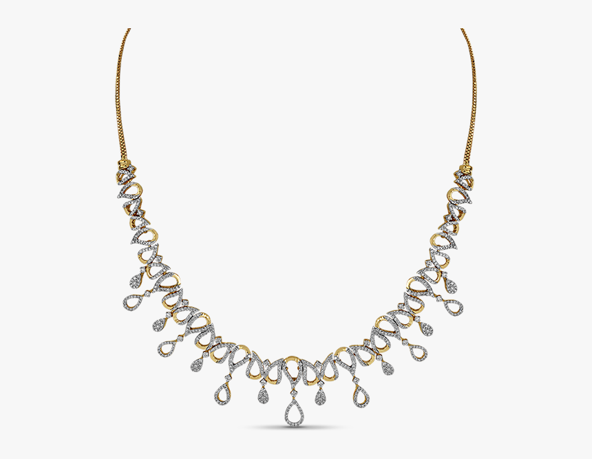 Diamond Necklace Designs, HD Png Download, Free Download