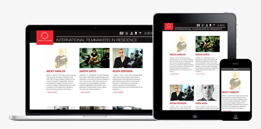 Mobile Frames - Website, HD Png Download, Free Download