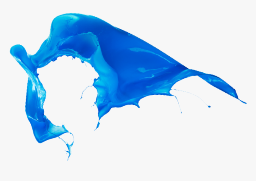 Blue Color Splash Png , Png Download - Blue Color Splash Png, Transparent Png, Free Download