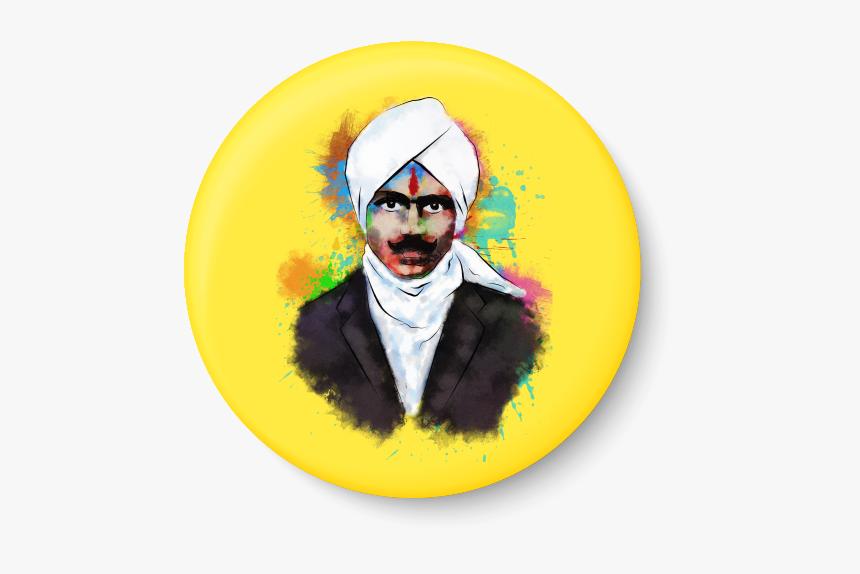 Thumb Image - Bharathiyar Wall Poster, HD Png Download, Free Download