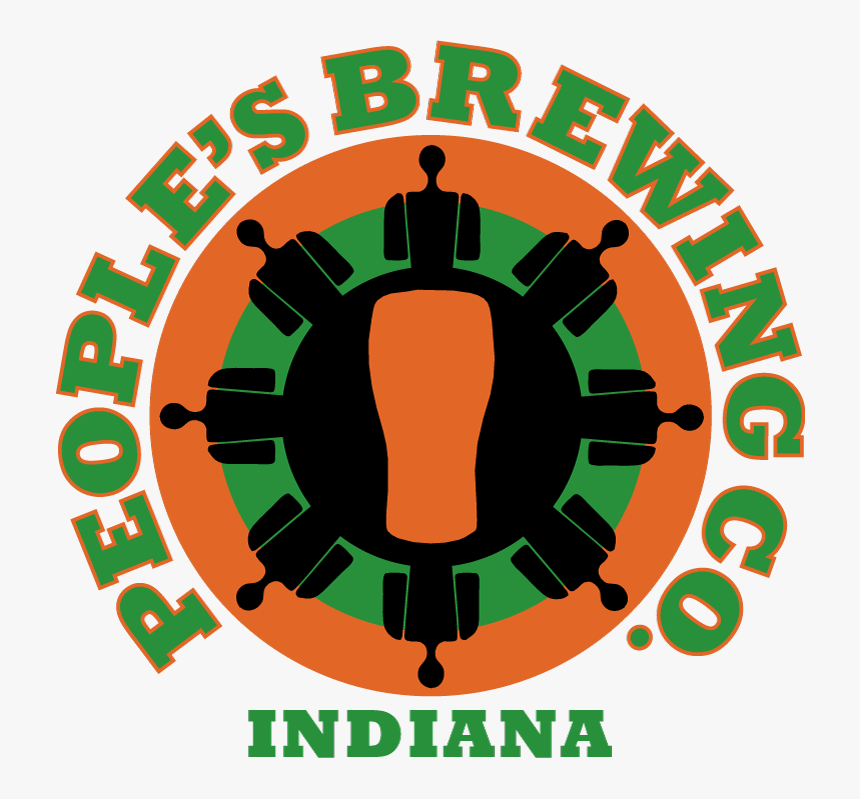 Logo Round High Quality Indiana - People's Brewing, HD Png Download, Free Download