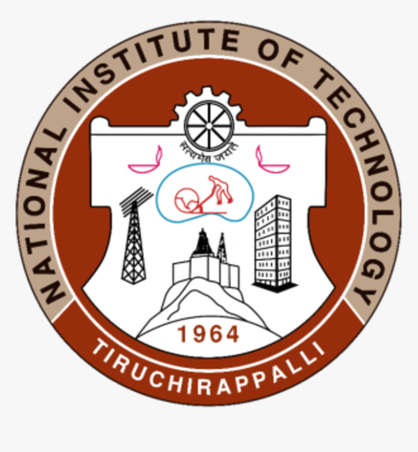 Updated Emblem/seal Of National Institute Of Technology, - National Institute Of Technology, Tiruchirappalli, HD Png Download, Free Download