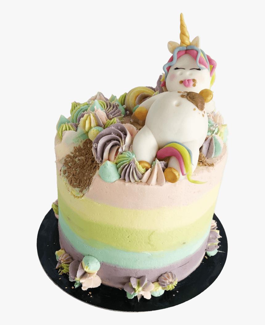 Astonishing Vegan Fat Unicorn Cake Delivered Class Girls Modern Birthday Personalised Birthday Cards Akebfashionlily Jamesorg